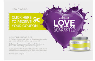 Free Valspar Paint Sample