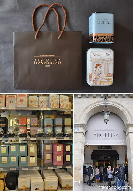 Angelina Paris - beautiful packaging inspiration