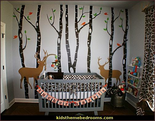 Manor fairy forest theme bedrooms woodland forest theme bedroom