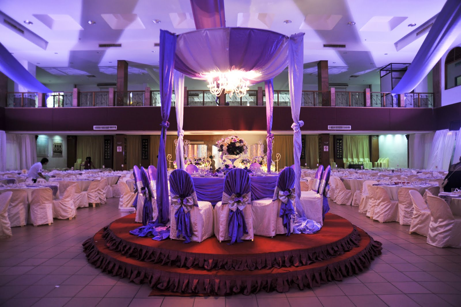 dquest ventures wedding company dinner venue