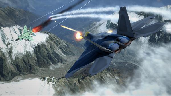Tom Clancy's H.A.W.X 2 PC GamePlay