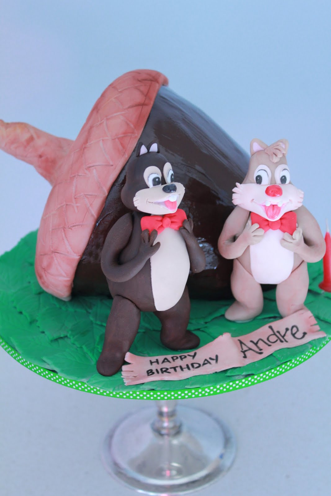 Chip And Dale Cake Toppers