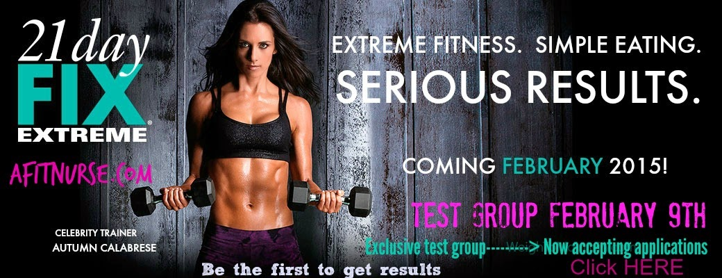 21 day fix extreme exclusive test group