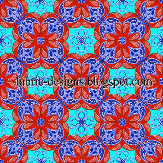 geometric patterns for fabric printing 1
