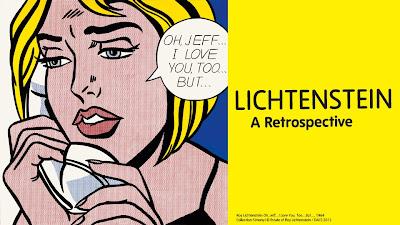 lichtenstein - EN EUROPA: Lichtenstein A Retrospective, en Londres