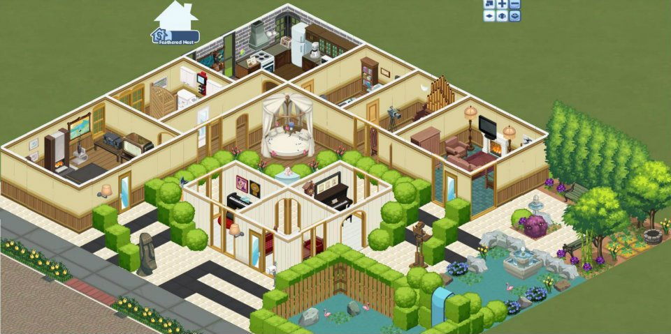 The Sims Social Indonesia (House Design) & Inggit Inggit Semut: The Sims Social Indonesia (House Design)