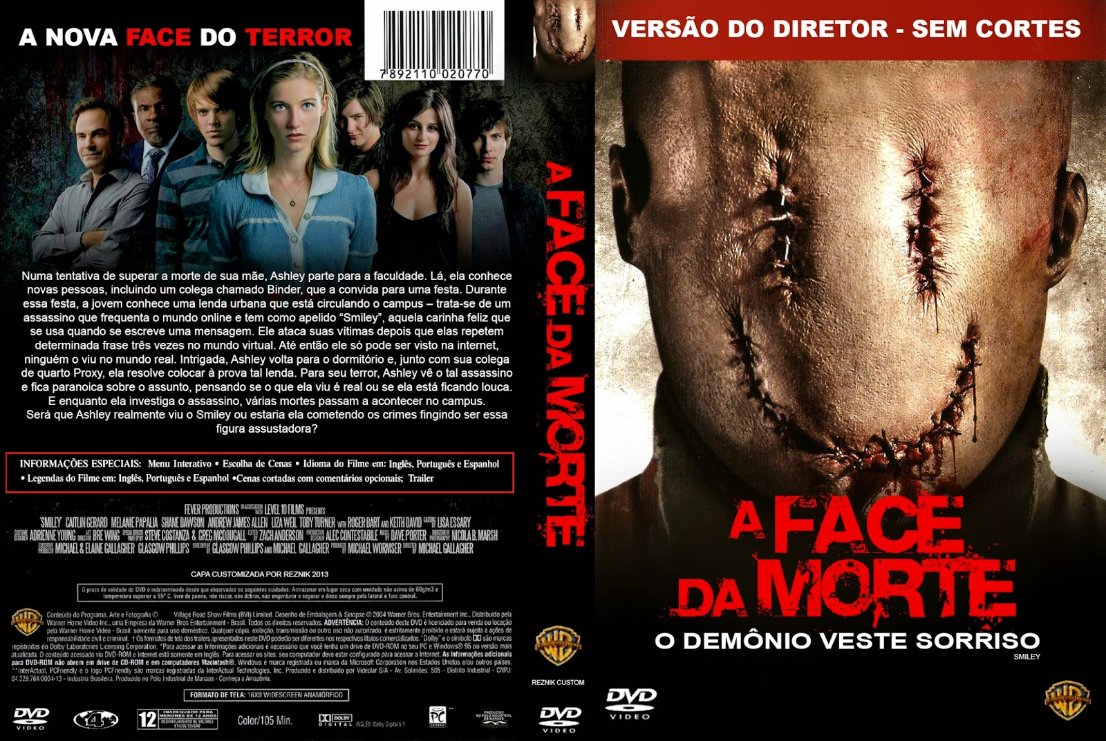 Poster A+Face+Da+Morte A Face da Morte Dublado Torrent RMVB + AVI Dual Áudio