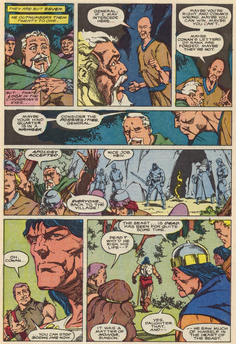 Conan the Barbarian (1970) Issue #197 #209 - English 20