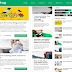 Flat Mag Blogger Template Free Download