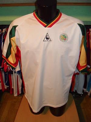 Mon grenier maillots s n gal 2002 - Equipe de france coupe du monde 2002 ...