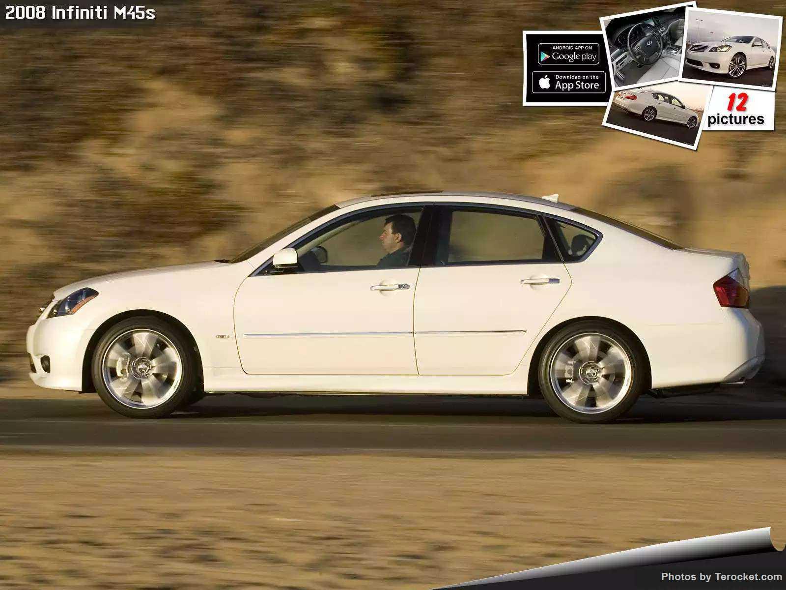 Hình ảnh xe ô tô Infiniti M45s 2008 & nội ngoại thất