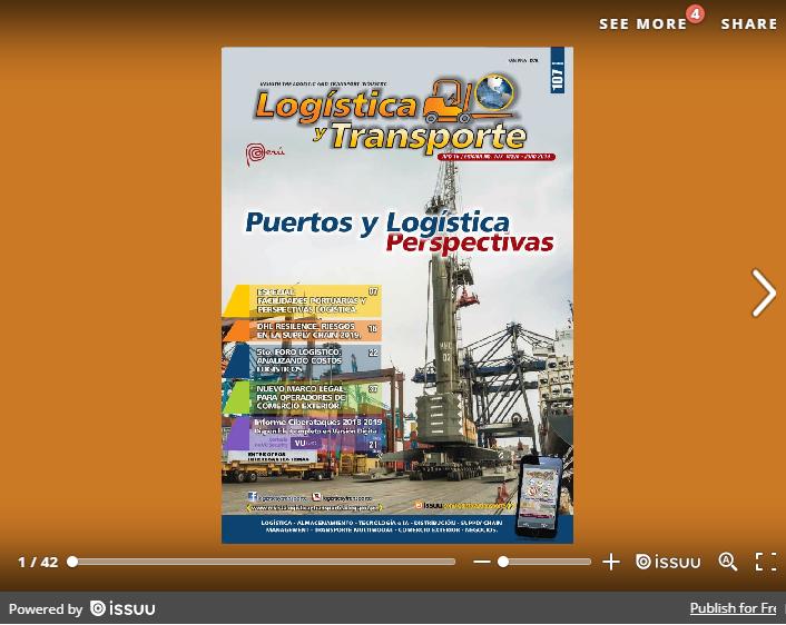 Logística & Transporte No. 107 AGOSTO