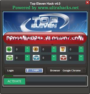 Top Eleven Hack v4.0