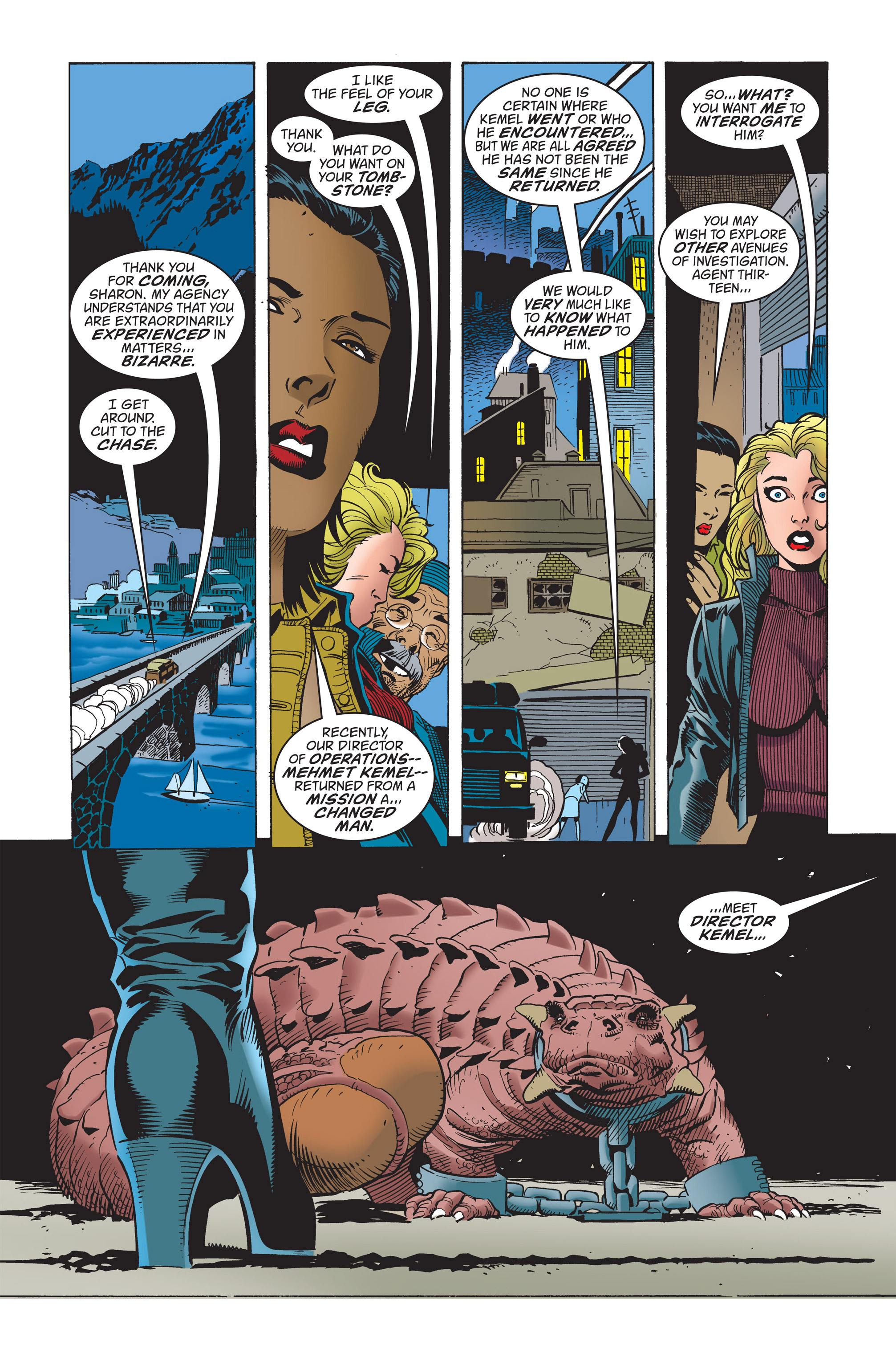 Captain America (1998) Issue #21 #27 - English 7