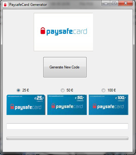Paysafecard Generator V.7.rar Megal