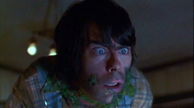 Stephen King as a hillbilly in Creepshow