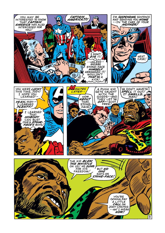 Captain America (1968) Issue #134 #48 - English 10