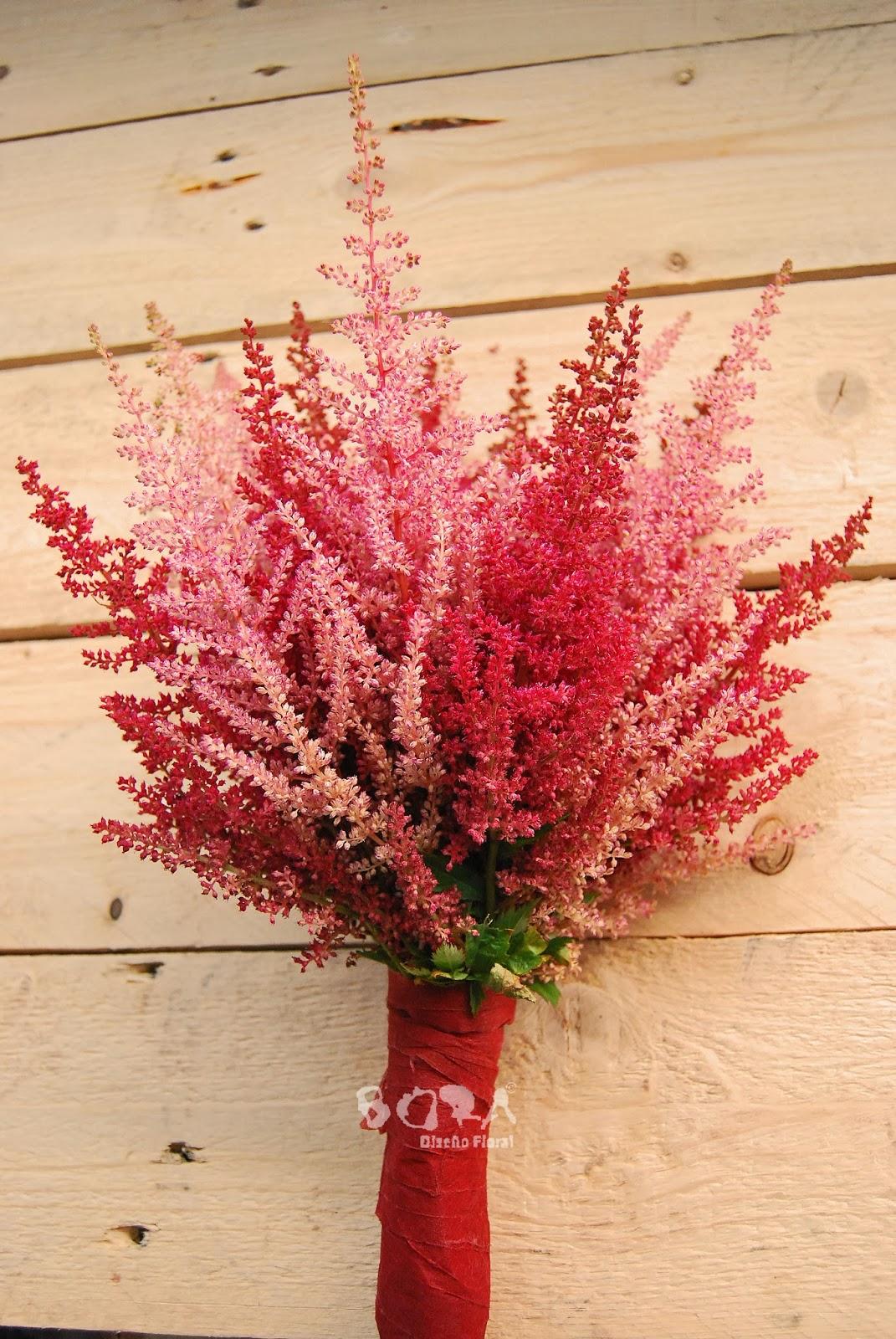 ramo novia otoño