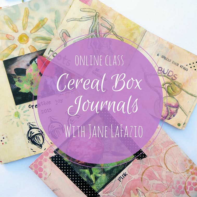 Janeville tiny tutorials make a cereal box journal ccuart Images