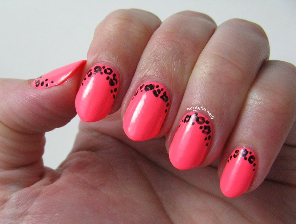 Nerdy for Nails: Neon and a New Nail Shape- Almond (Pros and Cons)