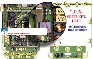 nokia 6030 keypad ways