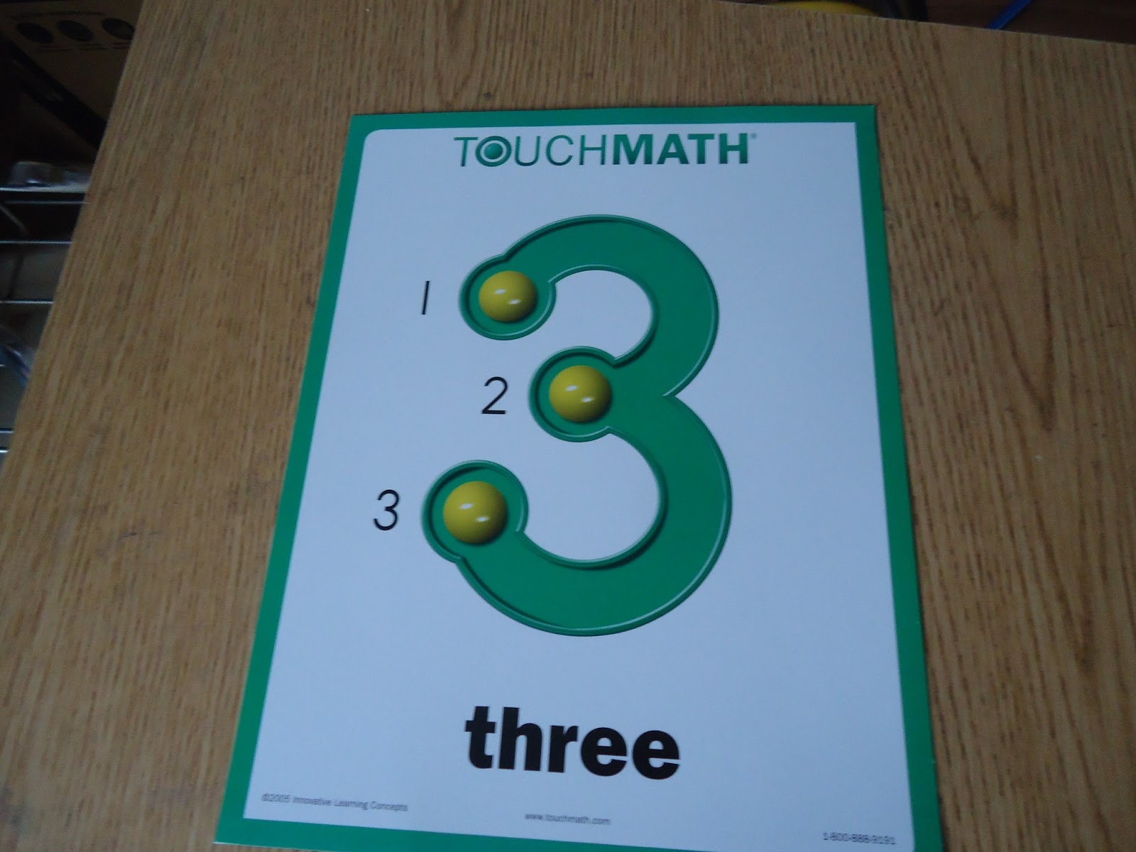 The Happy Homeschool Mom: Schoolhouse Review Crew: TouchMath