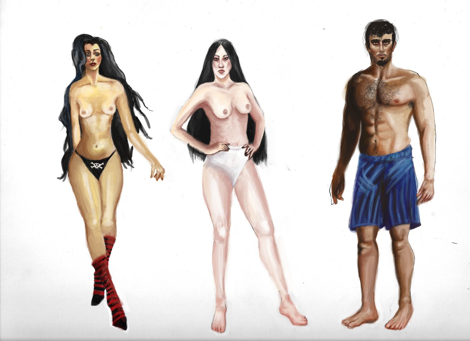 naked paperdoll
