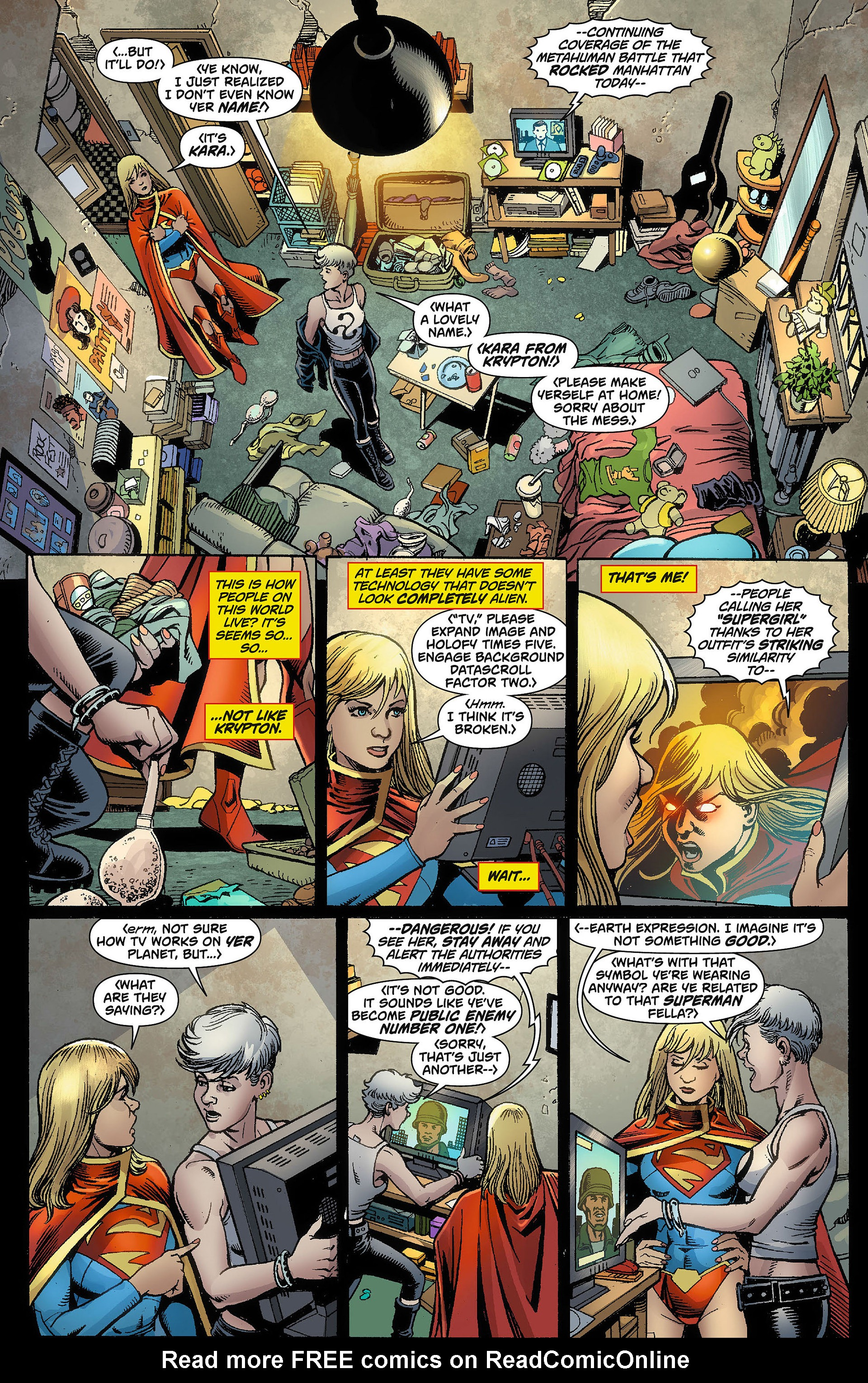 Supergirl (2011) Issue #8 #10 - English 12