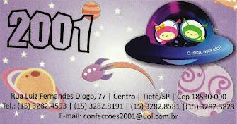 CONFECÇÕES 2001