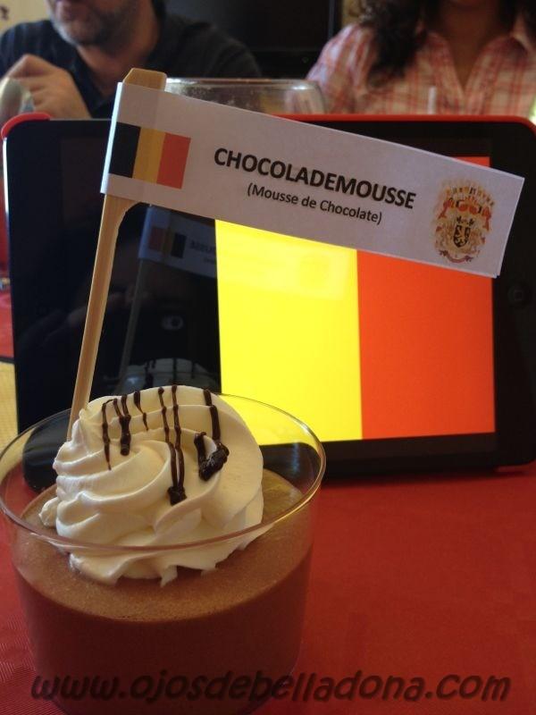 Chocolademousse (Mousse de Chocolate), Bélgica