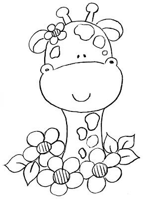 La Chachipedia: Jirafas para colorear, dibujos coloreados ...