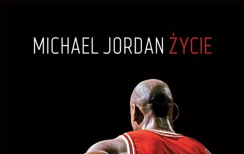 """Fragment okładki książki """"Michael Jordan. Życie"""""""