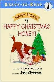bookcover of HAPPY CHRISTMAS, HONEY! by Laura Godwin