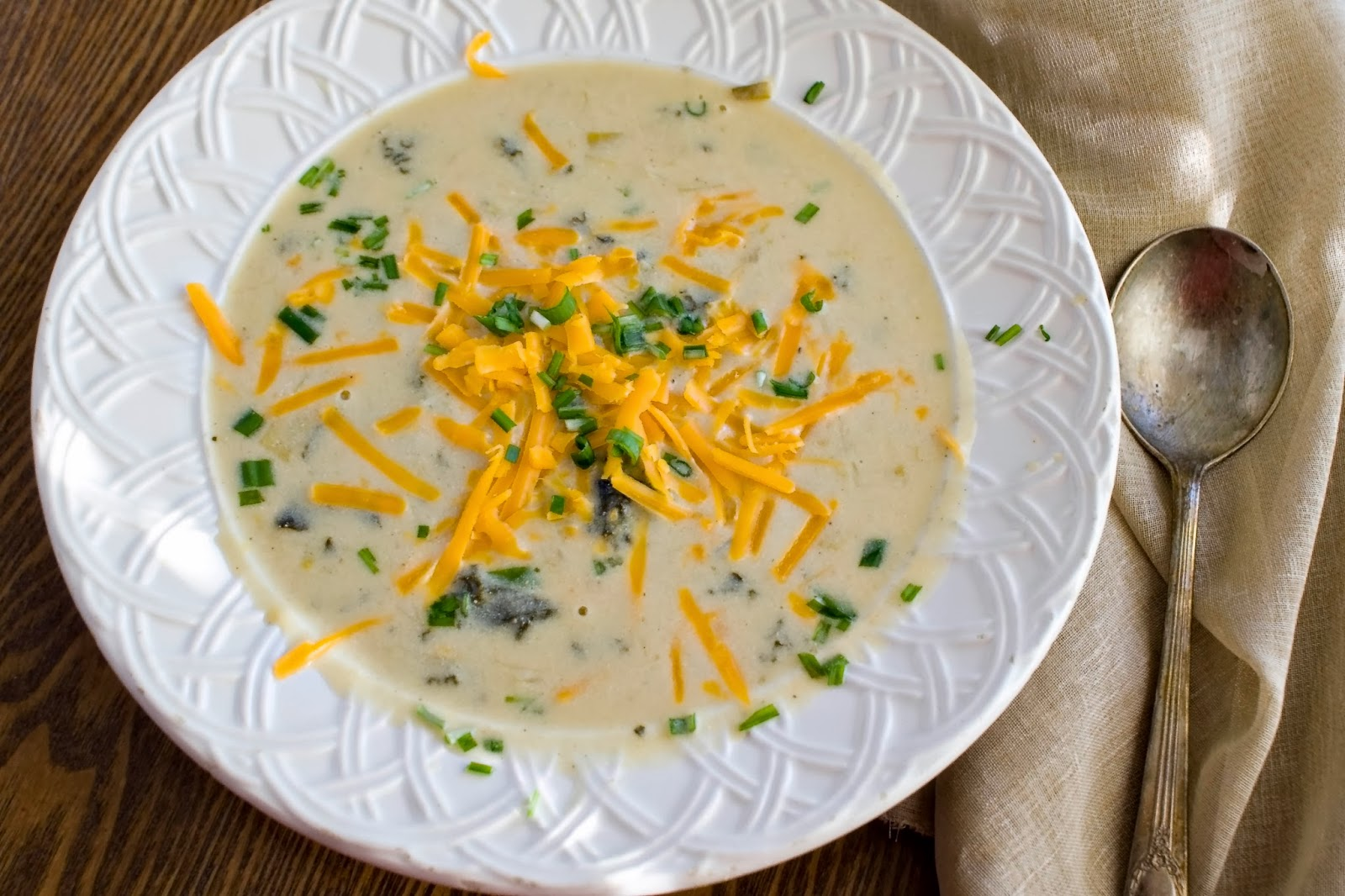 Austrian Cream Cheese Soup