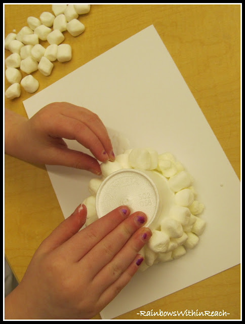 photo of: Fine Motor Friday: Igloo Sculptures via RainbowWithinReach