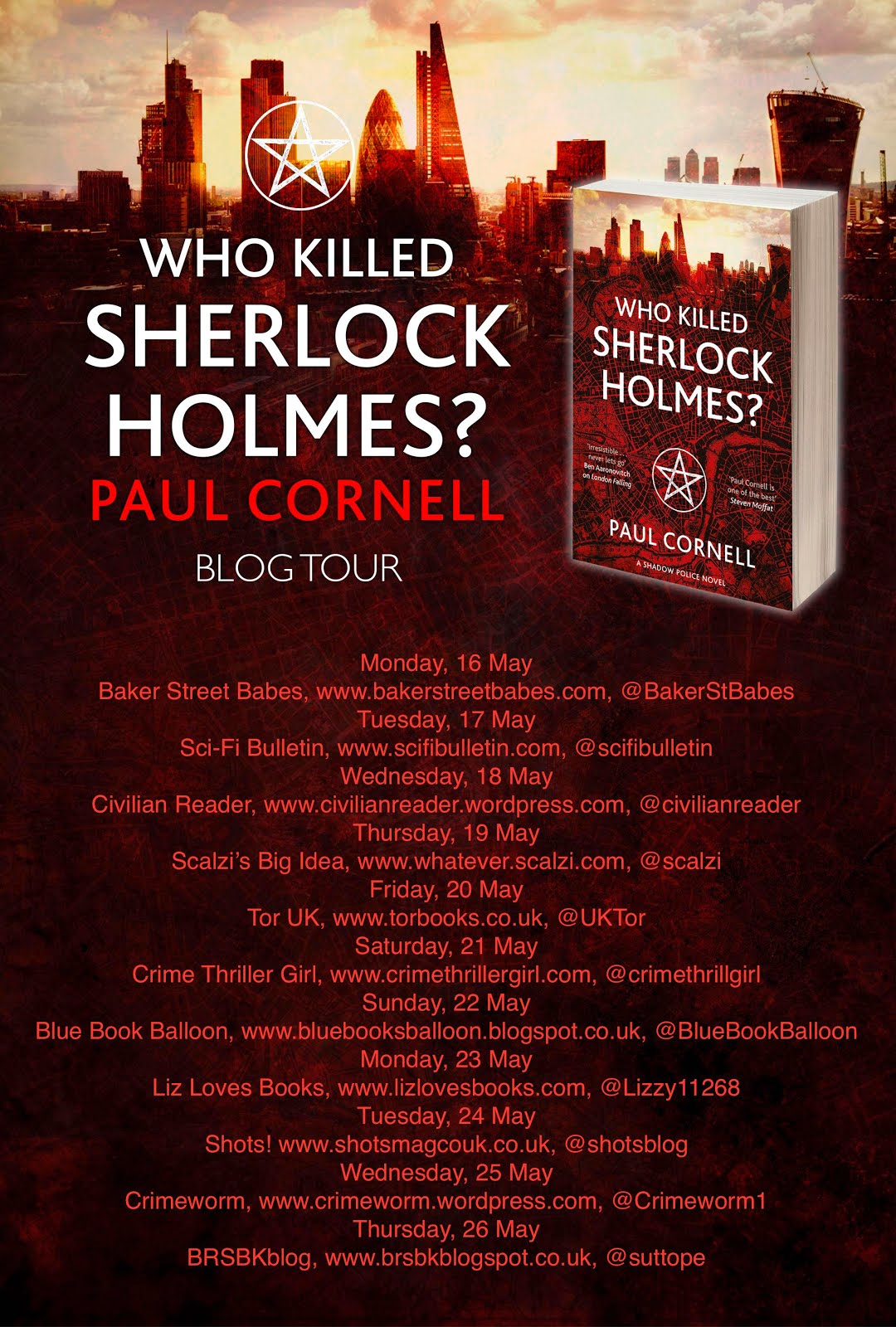 Who Killed Sherlock Holmes? blogtour