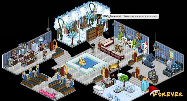 Casas Habblet ~ iForever Blog Mans u00e3o Iced #1