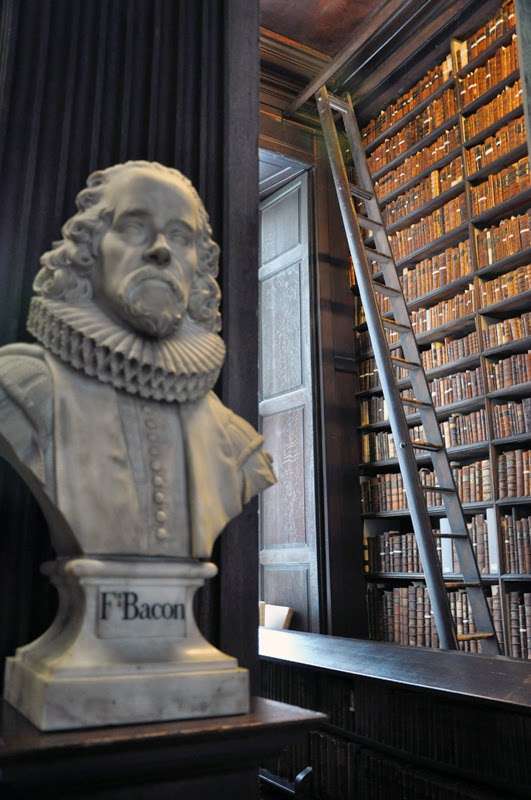 Irland 2014 - Tag 7 | Dublin | Trinity College | Library | Long Room