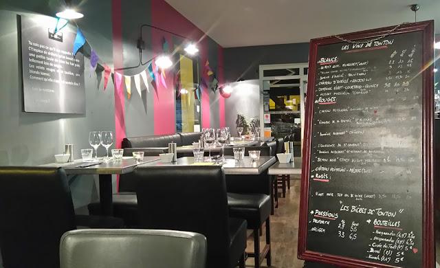 Chez Tonton, Nantes, restaurant, bullelodie