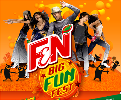 F&N 'Big Fun Fest Dancing Game' Contest