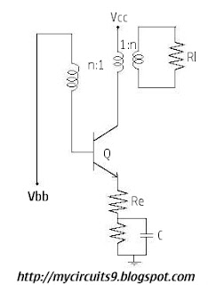 astable blocking oscillator circuit