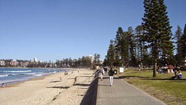 Plage de Manly - Sydney