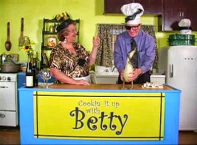 Betty tries her best to cook with the one and only Lawyer Ed.