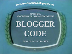True News USA is a proud member of the International Bloggers - Blogger Code