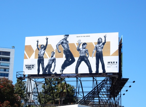 Magic Mike XXL movie billboard