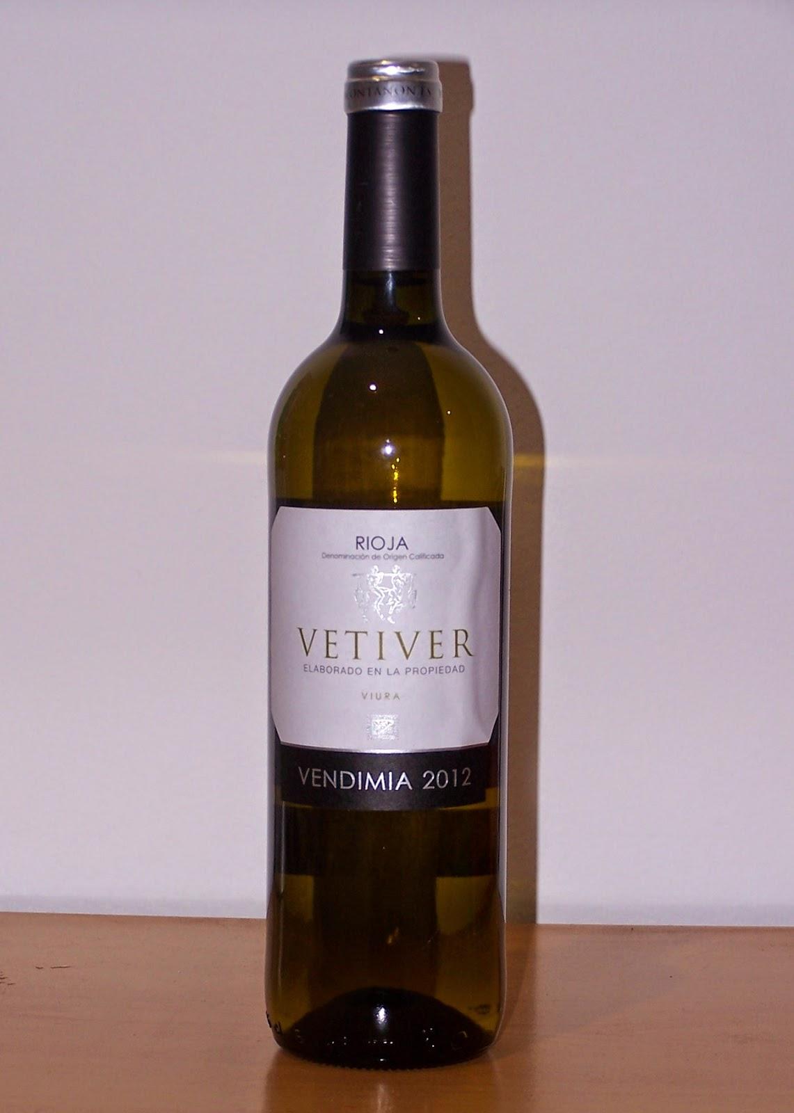 Vetiver 2012, D.o.c Rioja