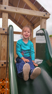 Youngest in play area