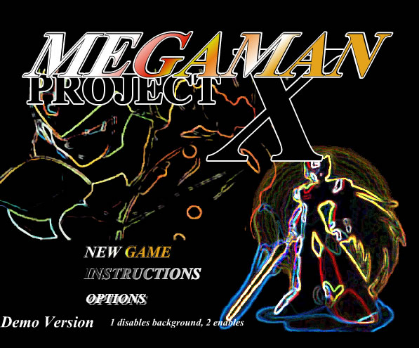 Unblocked Game : Mega Man Project X