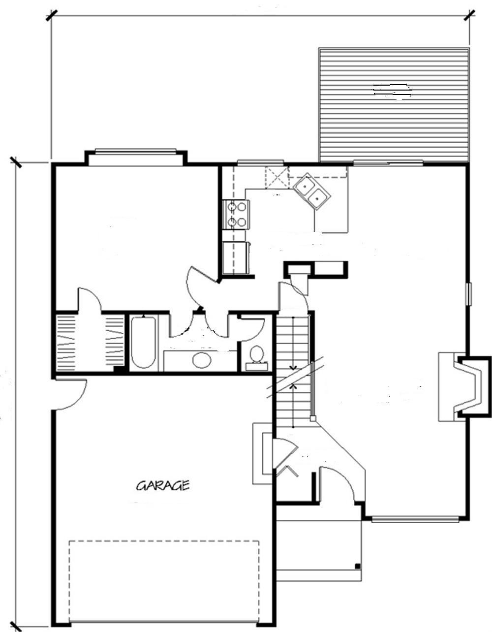 Planos de casas modelos y dise os de casas planos de for Planos de construccion de casas gratis