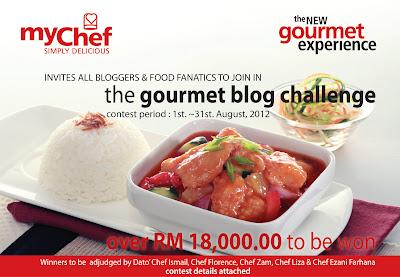 myChef's - GOURMET BLOG CHALLENGE